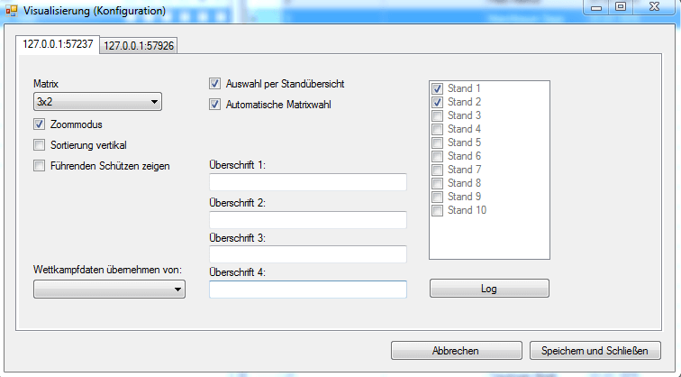 VIZVisualisierungKonfiguration