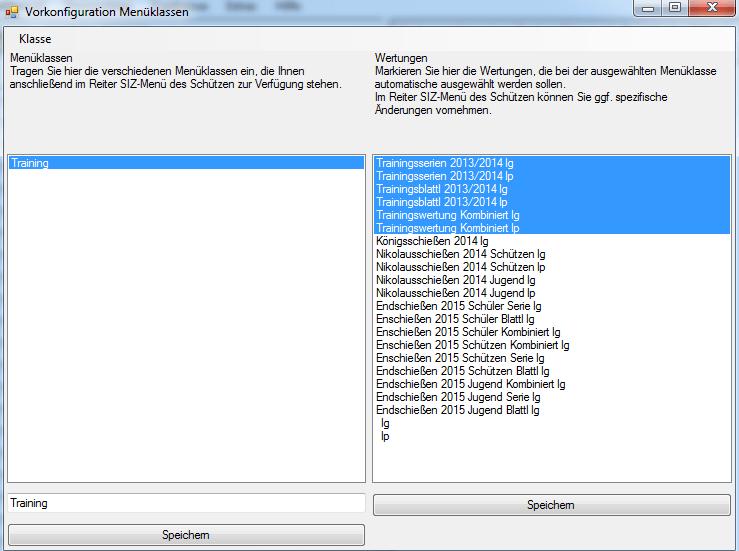 PreisschießenAllgemeinVorkonfigurationMenüklassen